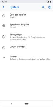 Google Pixel 3 - Fehlerbehebung - Handy zurücksetzen - Schritt 7