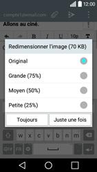 LG H320 Leon 3G - E-mail - envoyer un e-mail - Étape 15