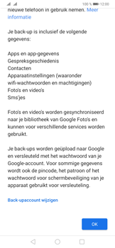 Huawei P30 Pro - Data - Maak een back-up met je account - Stap 11