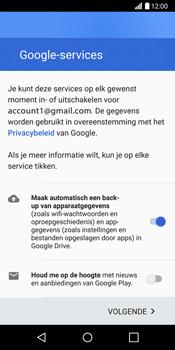 LG G6 H870 - Applicaties - Account aanmaken - Stap 16