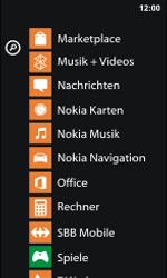Nokia Lumia 800 / Lumia 900 - Apps - Installieren von Apps - Schritt 4