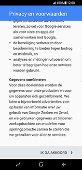 Samsung Galaxy S8 (G950) - Applicaties - Account aanmaken - Stap 15