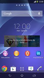 Sony Xpéria M2 - Photos, vidéos, musique - Créer une vidéo - Étape 1