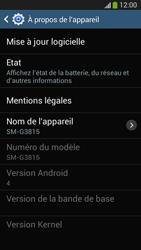 Samsung SM-G3815 Galaxy Express 2 - Logiciels - Installation de mises à jour - Étape 7