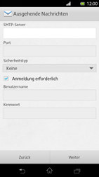 Sony Xperia T - E-Mail - Manuelle Konfiguration - Schritt 12
