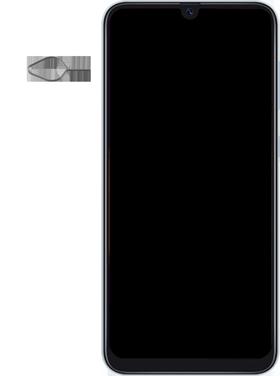 Samsung Galaxy A50 - Toestel - simkaart plaatsen - Stap 2
