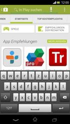 Sony Xperia V - Apps - Installieren von Apps - Schritt 6