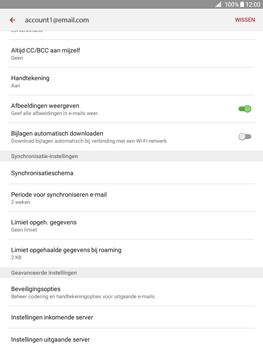 Samsung Galaxy Tab A 9.7 (SM-T555) - E-mail - Instellingen KPNMail controleren - Stap 12