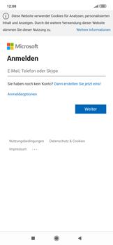 Xiaomi RedMi Note 7 - E-Mail - 032c. Email wizard - Outlook - Schritt 8