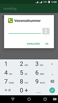 Acer Liquid Zest 4G Plus DualSim - Voicemail - Handmatig instellen - Stap 10