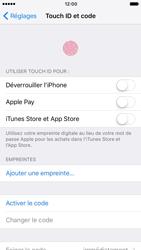 Apple iPhone 7 - Sécuriser votre mobile - Activer le code de verrouillage - Étape 4