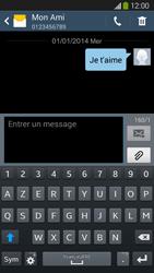Samsung Galaxy Grand 2 4G - Contact, Appels, SMS/MMS - Envoyer un SMS - Étape 11