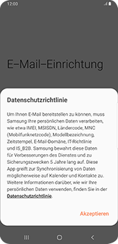 Samsung Galaxy S9 Plus - Android Pie - E-Mail - 032c. Email wizard - Outlook - Schritt 10