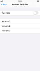 Apple iPhone 8 - iOS 13 - Network - Manual network selection - Step 6