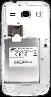 Samsung G3500 Galaxy Core Plus - SIM-Karte - Einlegen - Schritt 6