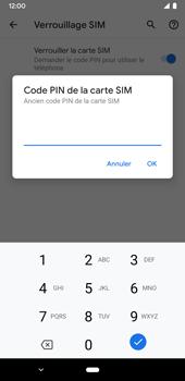 Google Pixel 3a - Sécuriser votre mobile - Personnaliser le code PIN de votre carte SIM - Étape 8