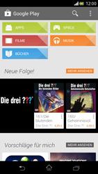 Sony Xperia V - Apps - Einrichten des App Stores - Schritt 26