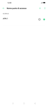 Oppo Find X2 - MMS - Configurazione manuale - Fase 7