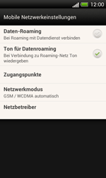 HTC C525u One SV - Netzwerk - Netzwerkeinstellungen ändern - Schritt 5