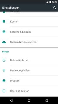 Motorola Google Nexus 6 - Fehlerbehebung - Handy zurücksetzen - 6 / 11