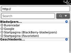 BlackBerry 9300 Curve 3G - Internet - Internetten - Stap 4