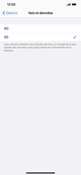 Apple iPhone 11 Pro Max - iOS 14 - Réseau - Comment activer une connexion au réseau 4G - Étape 6