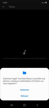 Samsung Galaxy Note 10 Lite - Photos, vidéos, musique - Ecouter de la musique - Étape 7