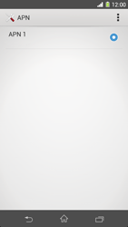 Sony Xperia Z1 - Internet e roaming dati - Configurazione manuale - Fase 9