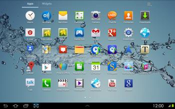 Samsung P5100 Galaxy Tab 2 10-1 - E-mail - Hoe te versturen - Stap 3