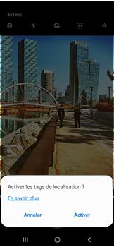 Samsung Galaxy A40 - Photos, vidéos, musique - Prendre une photo - Étape 5