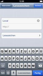 Apple iPhone 5 - Internet und Datenroaming - Verwenden des Internets - Schritt 11