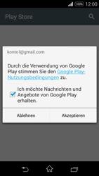 Sony Xperia E3 - Apps - Konto anlegen und einrichten - 23 / 25