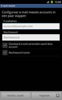 Samsung N7000 Galaxy Note - E-mail - handmatig instellen - Stap 11
