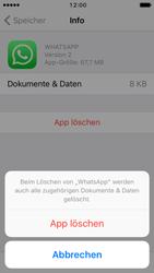 Apple iPhone 5s iOS 10 - Apps - Eine App deinstallieren - Schritt 8
