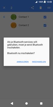 Sony Xperia XZ2 - Contactgegevens overzetten - delen via Bluetooth - Stap 8