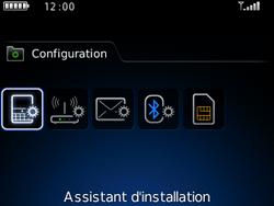 BlackBerry 8520 - E-mails - Ajouter ou modifier un compte e-mail - Étape 4