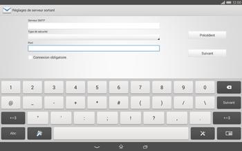 Sony Xperia Tablet Z2 LTE - E-mail - configuration manuelle - Étape 14