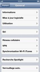Apple iPhone 5 - MMS - configuration manuelle - Étape 11