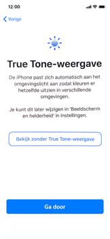 Apple iphone-x-met-ios-13-model-a1901 - Instellingen aanpassen - Nieuw toestel instellen - Stap 35