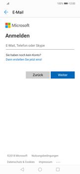 Huawei Mate 20 Lite - E-Mail - Konto einrichten (outlook) - Schritt 5