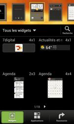 HTC One SV - Prise en main - Installation de widgets et d