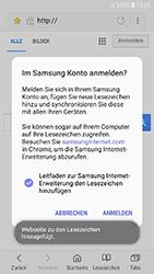 Samsung Galaxy J3 (2017) - Internet und Datenroaming - Verwenden des Internets - Schritt 11