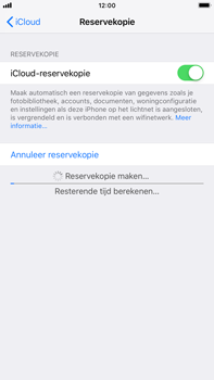 Apple iPhone 6 Plus - iOS 12 - toestel resetten - back-up maken met jouw account - stap 15
