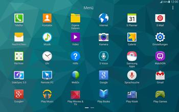 Samsung T805 Galaxy Tab S - Internet und Datenroaming - Verwenden des Internets - Schritt 3