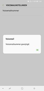 Samsung Galaxy A6 Plus - voicemail - handmatig instellen - stap 12