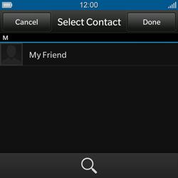 BlackBerry Q10 - E-mail - Sending emails - Step 7