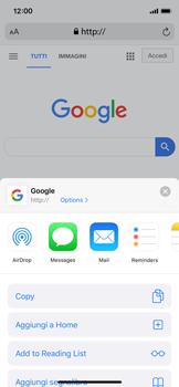 Apple iPhone X - iOS 13 - Internet e roaming dati - Uso di Internet - Fase 17