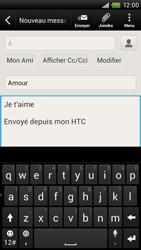 HTC S728e One X Plus - E-mail - Envoi d