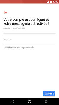Nokia 6 (2018) - E-mail - Configuration manuelle (outlook) - Étape 11