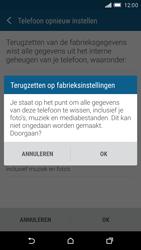 HTC One M9 - toestel resetten - fabrieksinstellingen terugzetten - stap 7